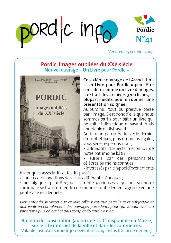Couverture Pordic info