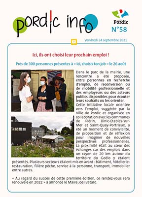 Couverture Pordic info n°58
